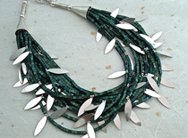 SandersonBee-turquoise.silver-necklace
