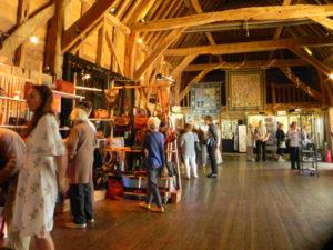 Michelham Priory Barn