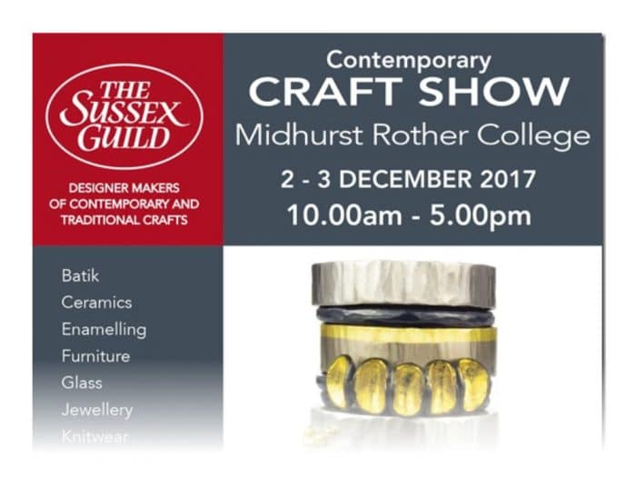Midhurst Rother College Craft Show Flyer