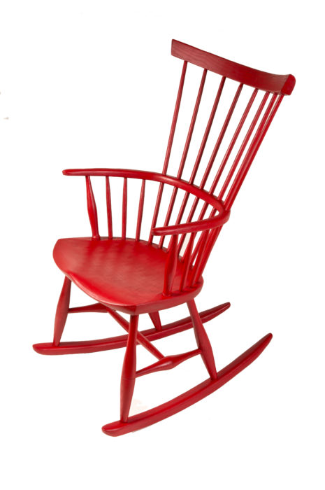 James Mursell Red Chair