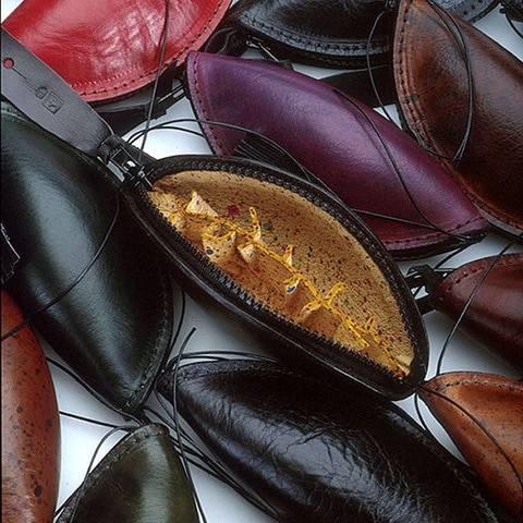 Leather - Sue Lowday - Pod purses