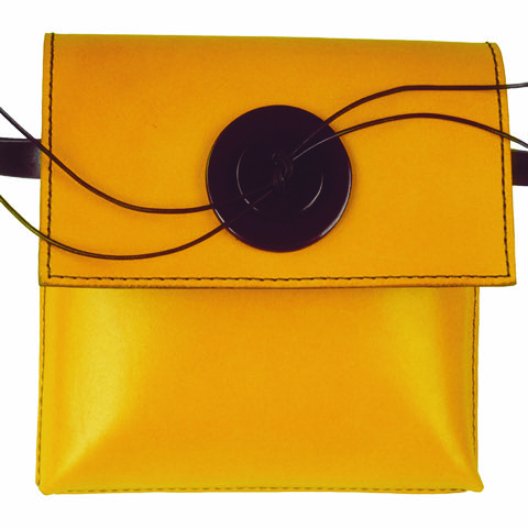 Leather - Sue Lowday - pocket bag
