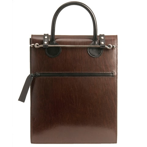 Leather - Sue Lowday - Tall document bag