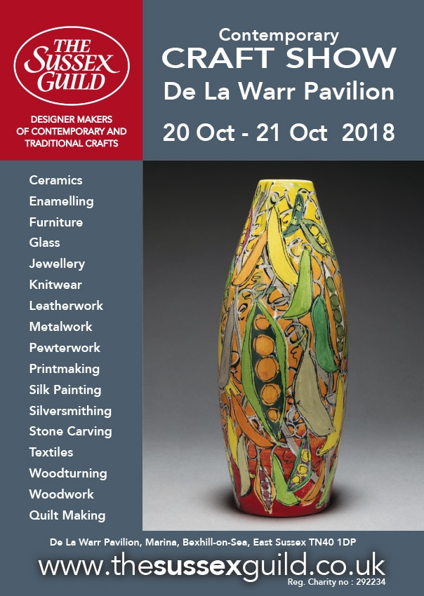 De La Warr Contemporary Craft Show Oct 2018