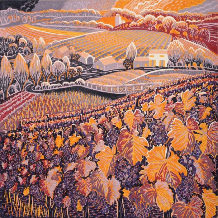 Printmarking - Annie Soudain - Autumn Glow