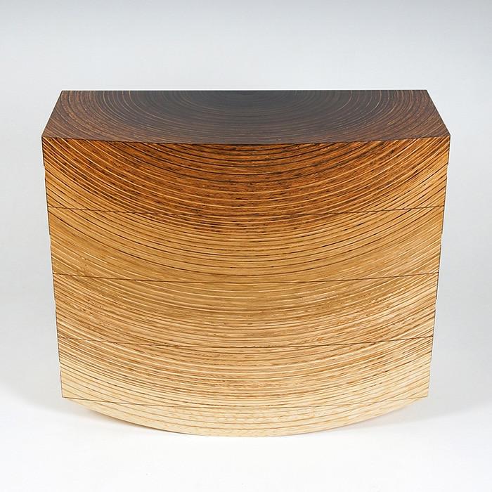 Wood - Edward Johnson - Radiant Chest of Drawers