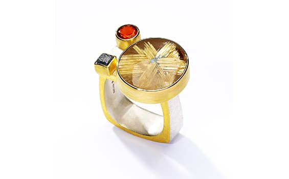 Star ring Tanja Ufer Jewellery