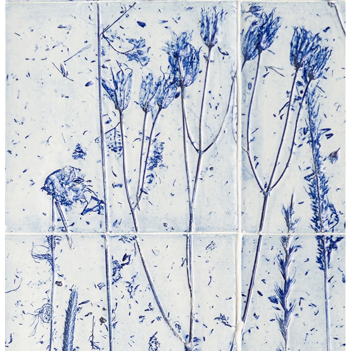 Ceramics - Liz Emtage - Porcelain Tile panel