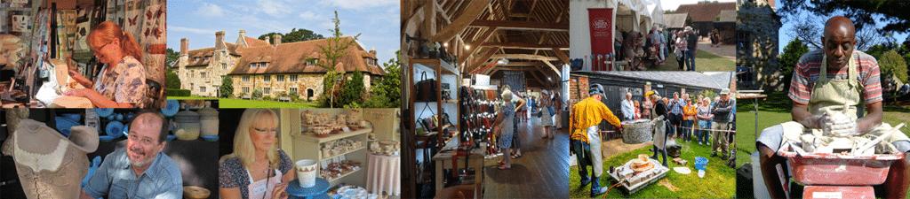 Michelham Priory & Gardens Contemporary Craft Show