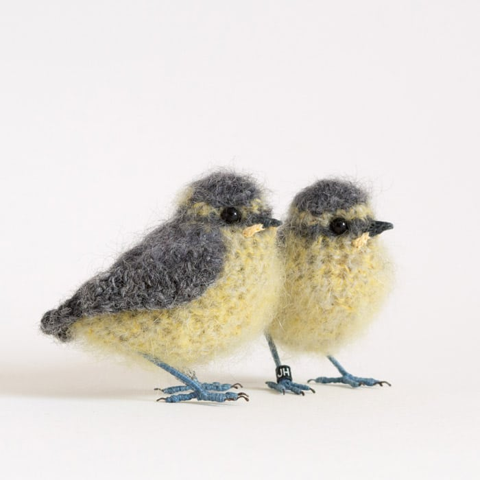 Textiles - Jose Heroys - Baby bluetits