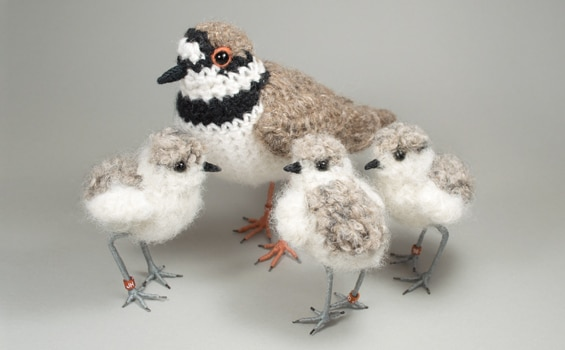 Textiles - Jose Heroys - Bird family