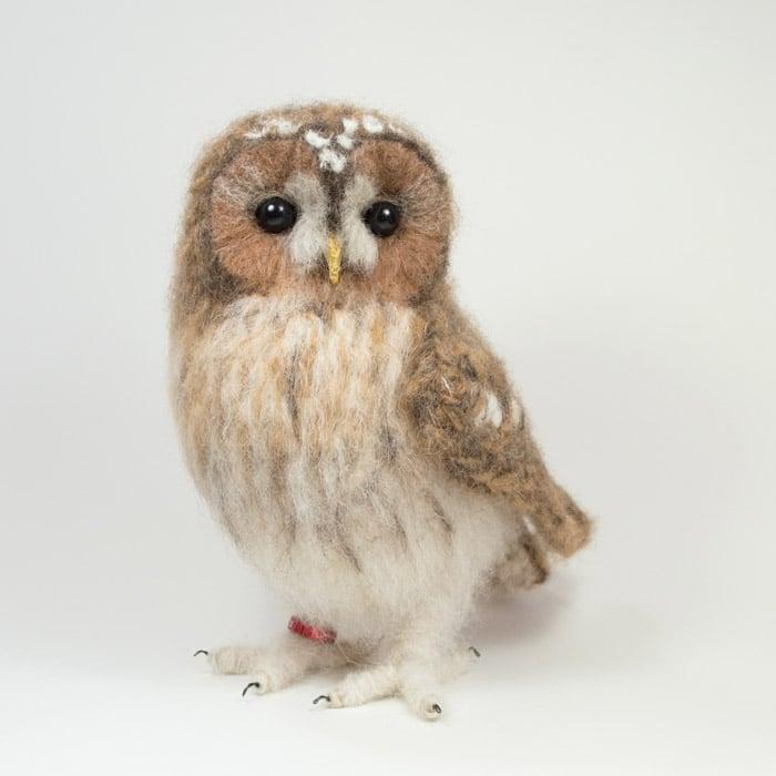 Textiles - Jose Heroys - Tawny owl