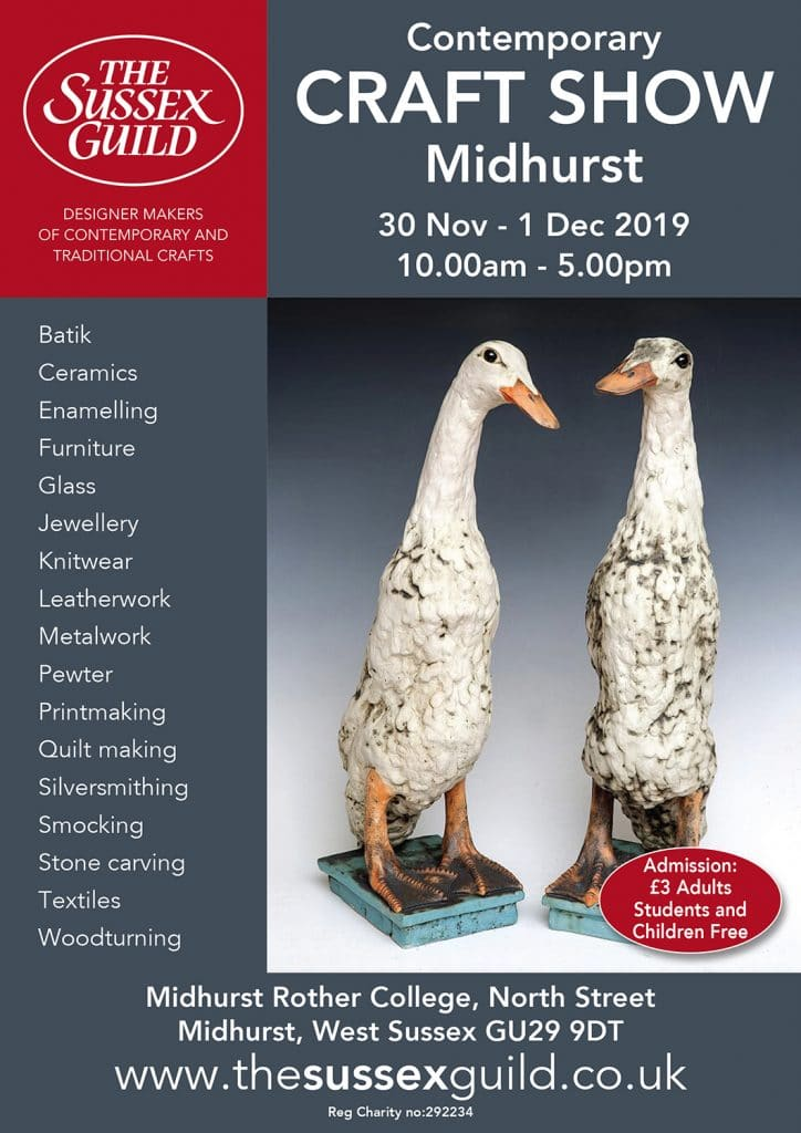2019 Midhurst Contemporary Craft show