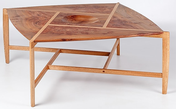 Wood Chris Alley Pythagoras Table