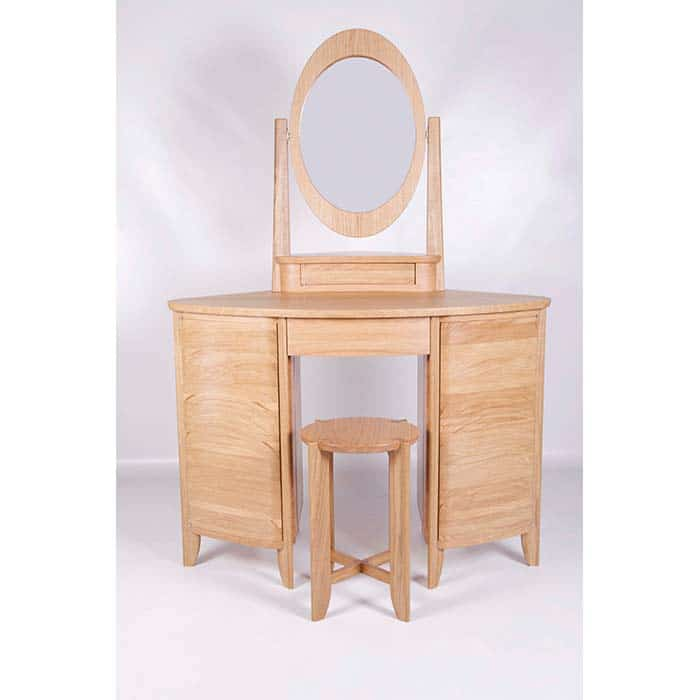 Wood Chris Alley 'Stacked' oak Dressing Table