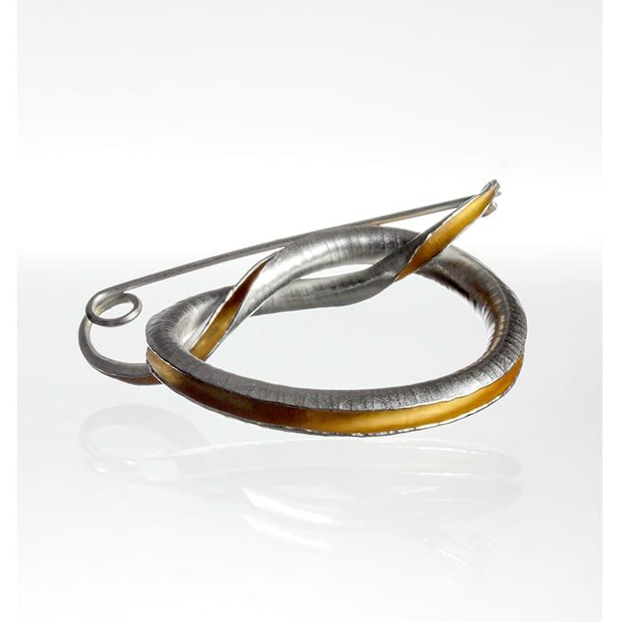 Jewellery - Anne Massey - Knot Brooch