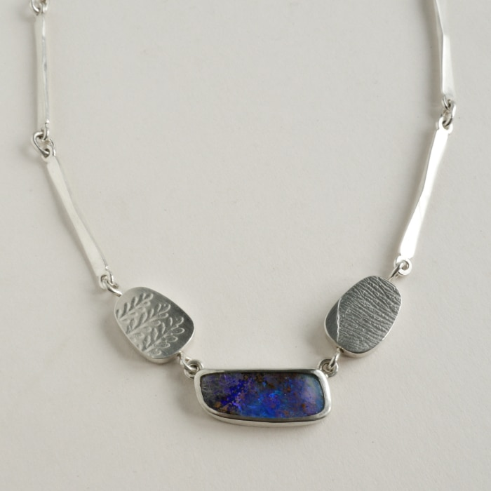 Jewellery -Naomi James - Australian opal necklace