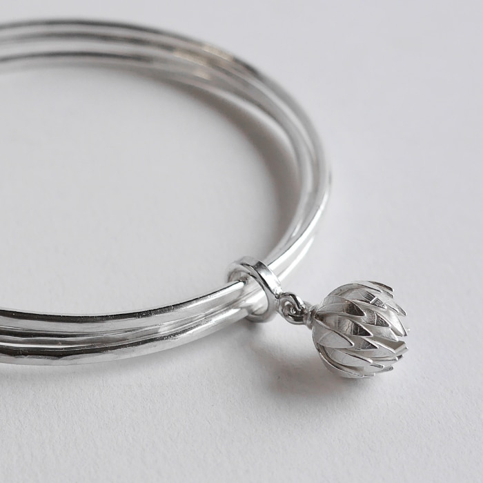 Jewellery - Naomi James - clover bangle