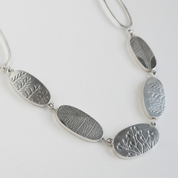 Jewellery - Naomi James - long ovals necklace