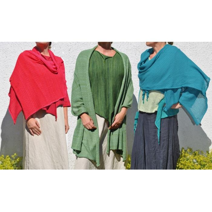Knitwear - Sophie Cadogan - Mantilla shawl