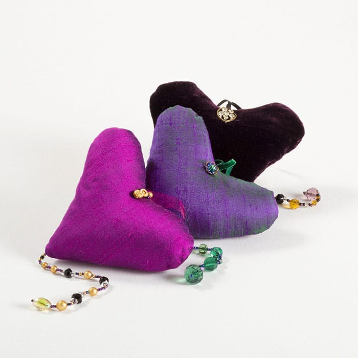 Textiles - Louise Turner-Creasey - Hearts
