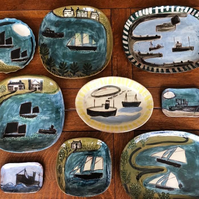Ceramics - Anne Barrell - Platters