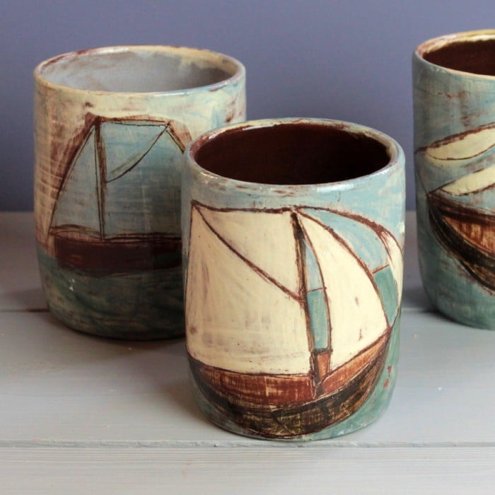 Ceramics - Anne Barrell - Rum Cups