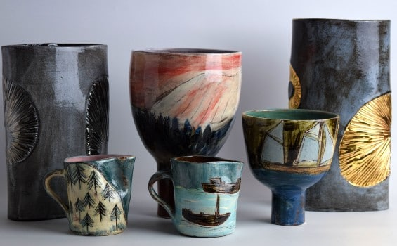 Ceramics - Anne Barrell - Selection of Ceramics