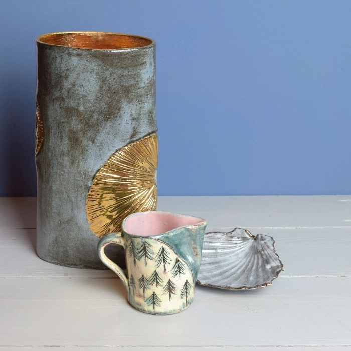 Ceramics - Anne Barrell - Shell Range and Jug
