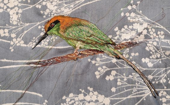 Textiles - Julie French - Indian Bee Eater