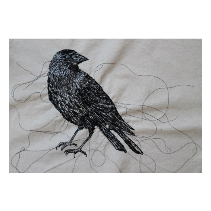 Textiles - Julie French - Jackdaw