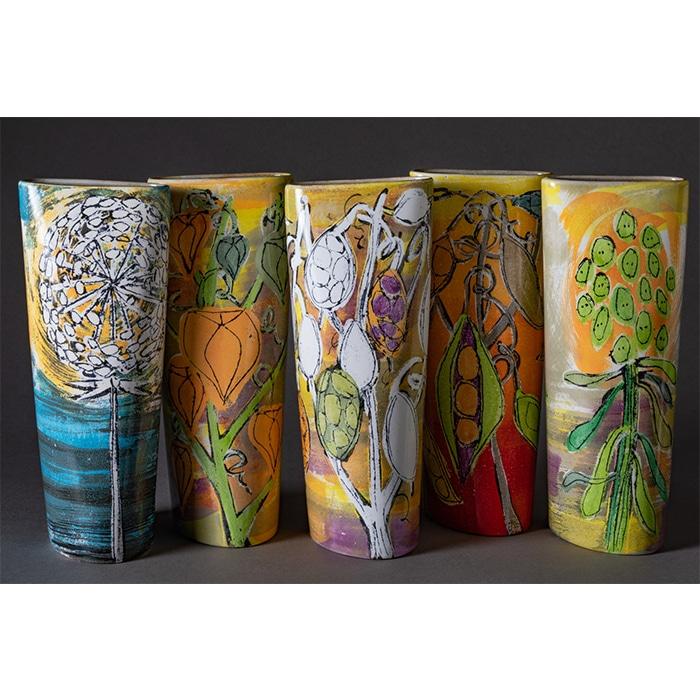 Ceramics - Lisa Katzenstein - 5 Vases