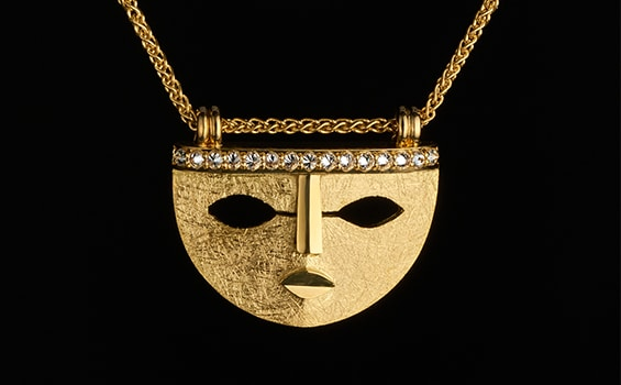 Jewellery - Sylvaine & Marek - Mask Pendant