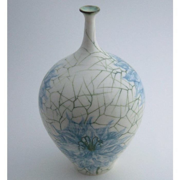 Ceramics - Justine Munson - Love in a Mist vase