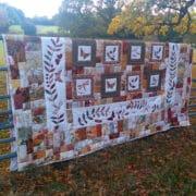 Textiles_Louise_Bell_Nature_Applique_Block_Quilt