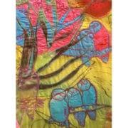 Textiles_Tritia_Neve_silkpainting_parrots