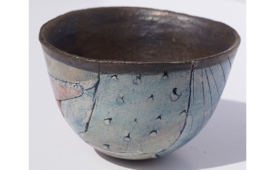 Ceramics - Jessica Jordan- Red bowl
