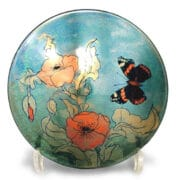Ceramics_Jonathan_Chiswell_Jones_butterfly-and_flowers