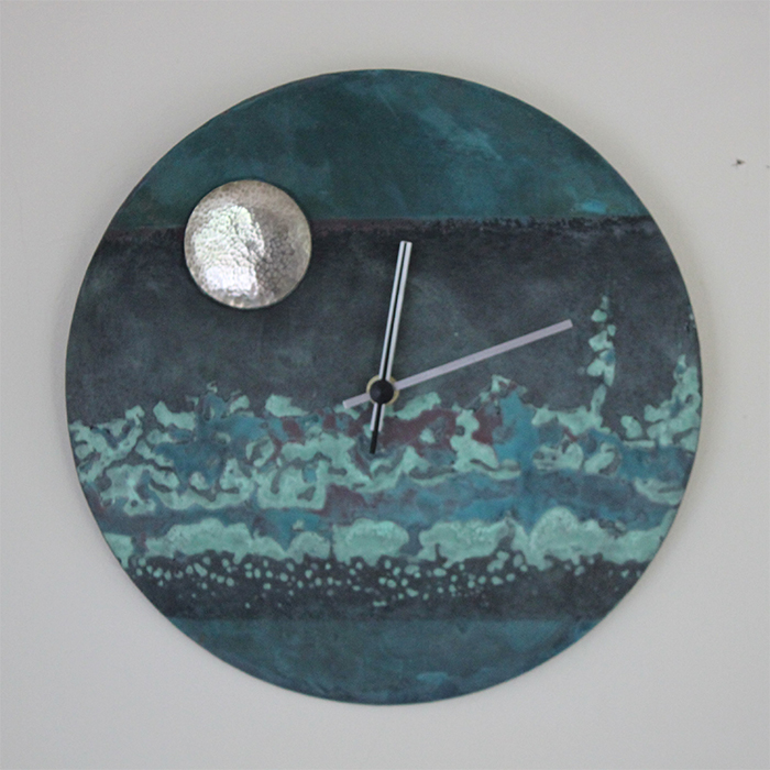 Jewellery - Amanda Zoe - patinated clock