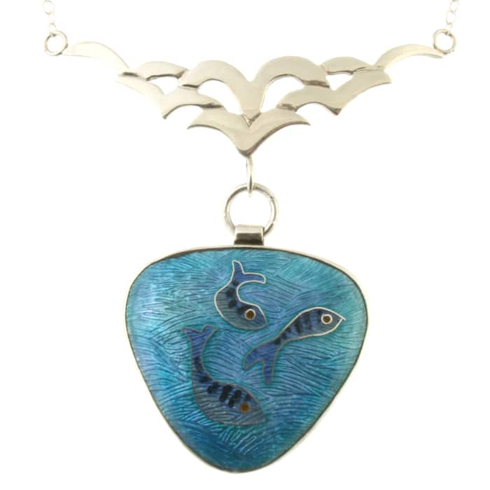 Jewellery - Linda Connelly - Into the Blue necklace