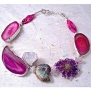 Jewellery_Bee_Sanderson_Pink_Agate_Ammonite