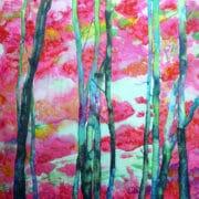Textiles_Diane_ Rogers_Brilliant Trees