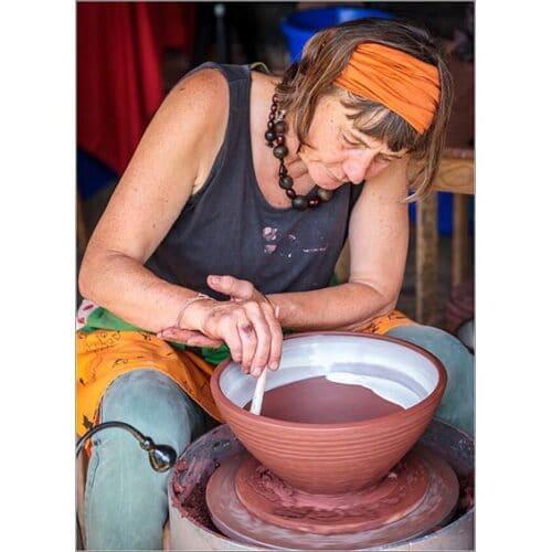 Ceramics - Ann Hitchcox - demo