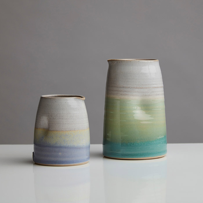 Ceramics - Holly Bell - dimple jugs