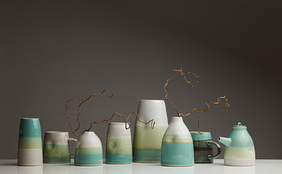 Ceramics - Holly Bell - eight pots