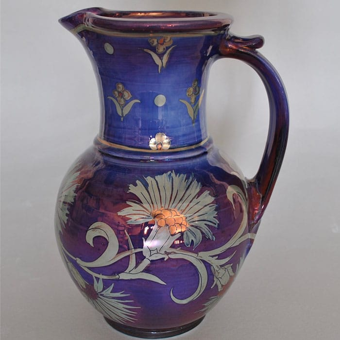 Ceramics - Jonathan Chiswell Jones - Jug with Dianthus