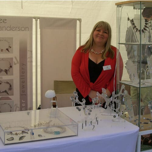Jewellery - Bee Sanderson - stand at SGshow