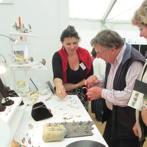 Jewellery - Eve Claire Taylor - Show Stand