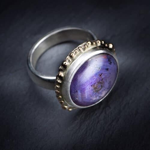 Jewellery - Lorriane Gibby - Sapphire ring