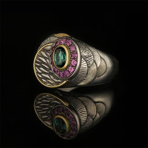 Jewellery - Sylvaine Frouin & Marek Machlowski - Engraved signet ring